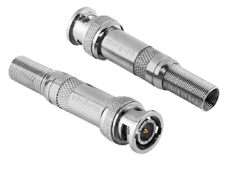Conector usado em cenários de CFTV do tipo