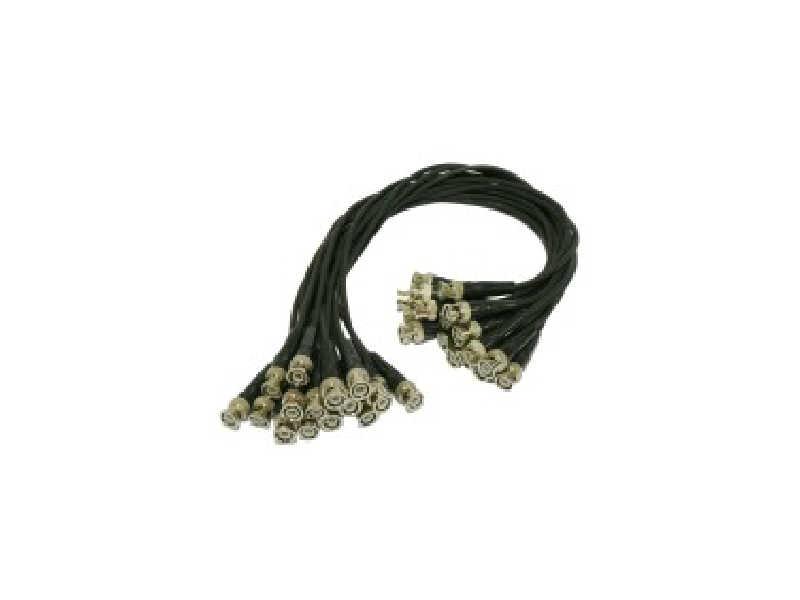 Fio extra-flexível 16 cabos BNC macho -> BNC macho -ACS-216