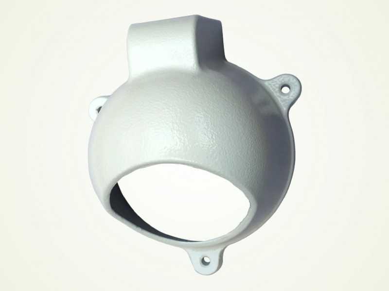 Utilizado para proteger câmera infra dome.