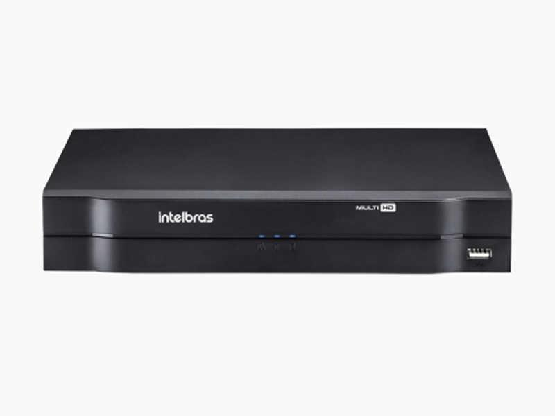 O DVR Intelbras Multi-HD® visualiza câmeras de segurança 1080p (Full HD) e grava na resolução 1080p Lite. Ideal para pequenos projetos de CFTV.
