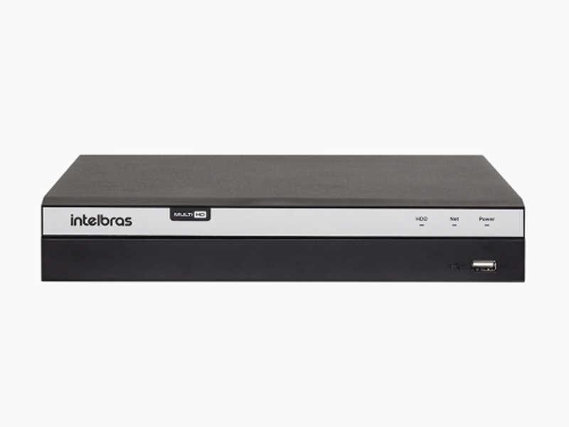 O novo gravador digital Intelbras Multi HD® é compatível com os protocolos HDCVI, AHD, HDTVI, IP e Analógico.