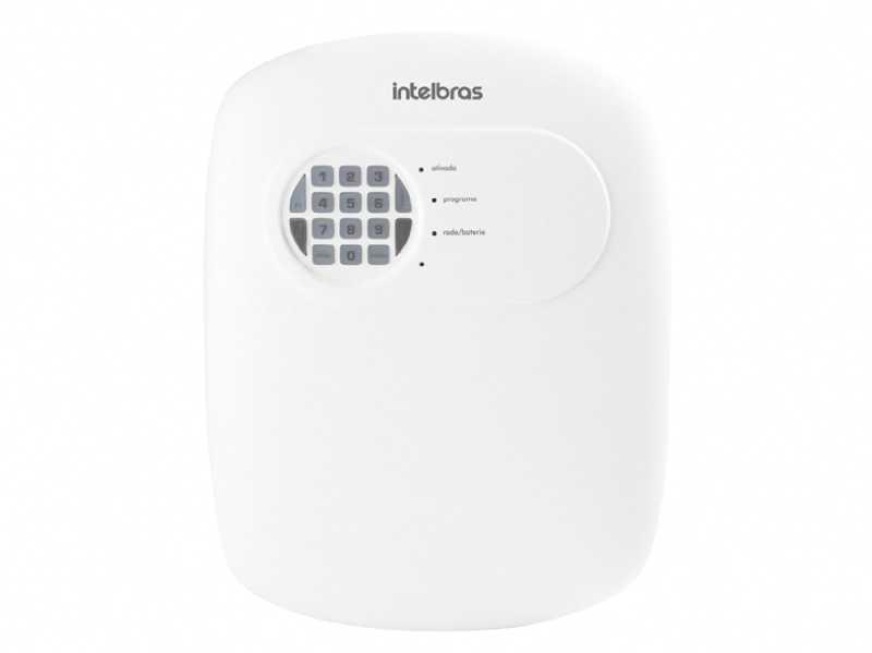 A central de alarme ANM 2004 MF é compacta e de fácil programação, possui 6 memórias para telefones, função Pânico e zona 24 horas.