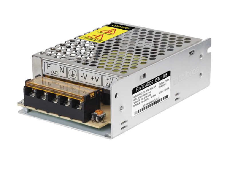 A EFM 1205 proporciona o melhor funcionamento dos equipamentos de CFTV, garantindo mais segurança, economia e qualidade do começo ao fim dos projetos.