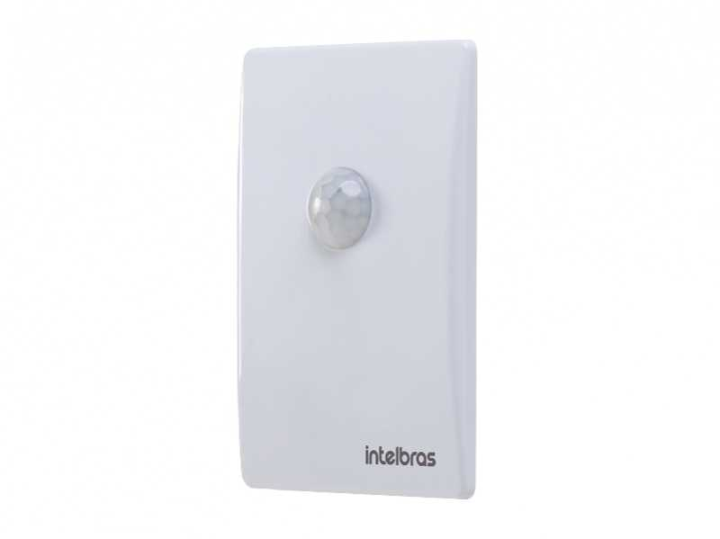 O sensor de presença ESP 180 E foi desenvolvido para embutir em caixa 4×2
