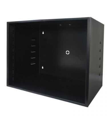 Gabinetes para ambientes internos (indoor), indicado para acomodação e proteção de equipamentos e acessórios eletrônicos em padrão 19″