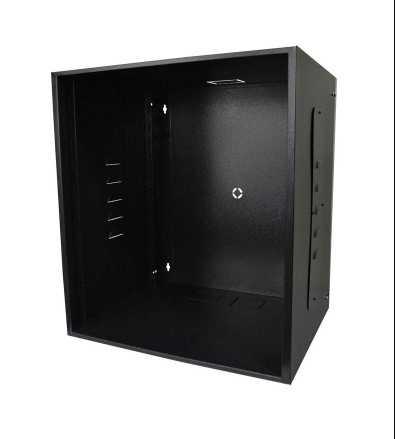 Gabinetes para ambientes internos (indoor), indicado para acomodação e proteção de equipamentos e acessórios eletrônicos em padrão 19″.